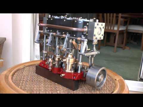 Stuart Triple Expansion Steam Engine