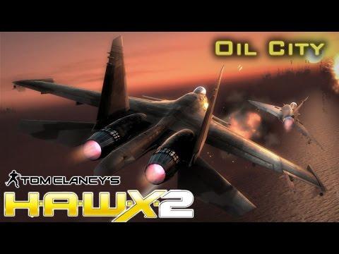 "Tom Clancy's H.A.W.X. 2. Mission 6 ""Oil City"""