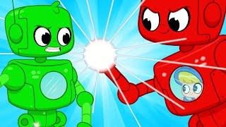 Giant Robot Showdown - Mila and Morphle | Cartoons for Kids | Robot Superhero | My Magic Pet Morphle
