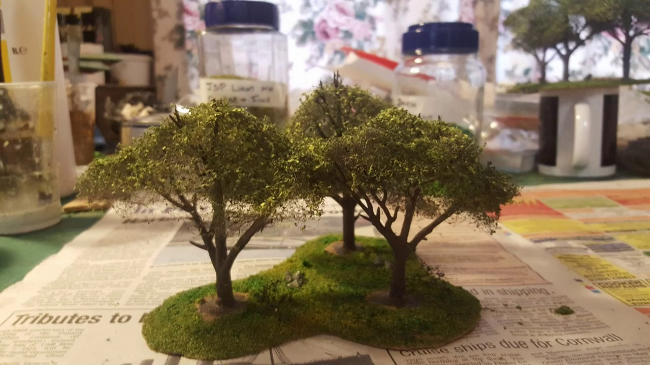 Terrain Tutorial - How to make deciduous green trees