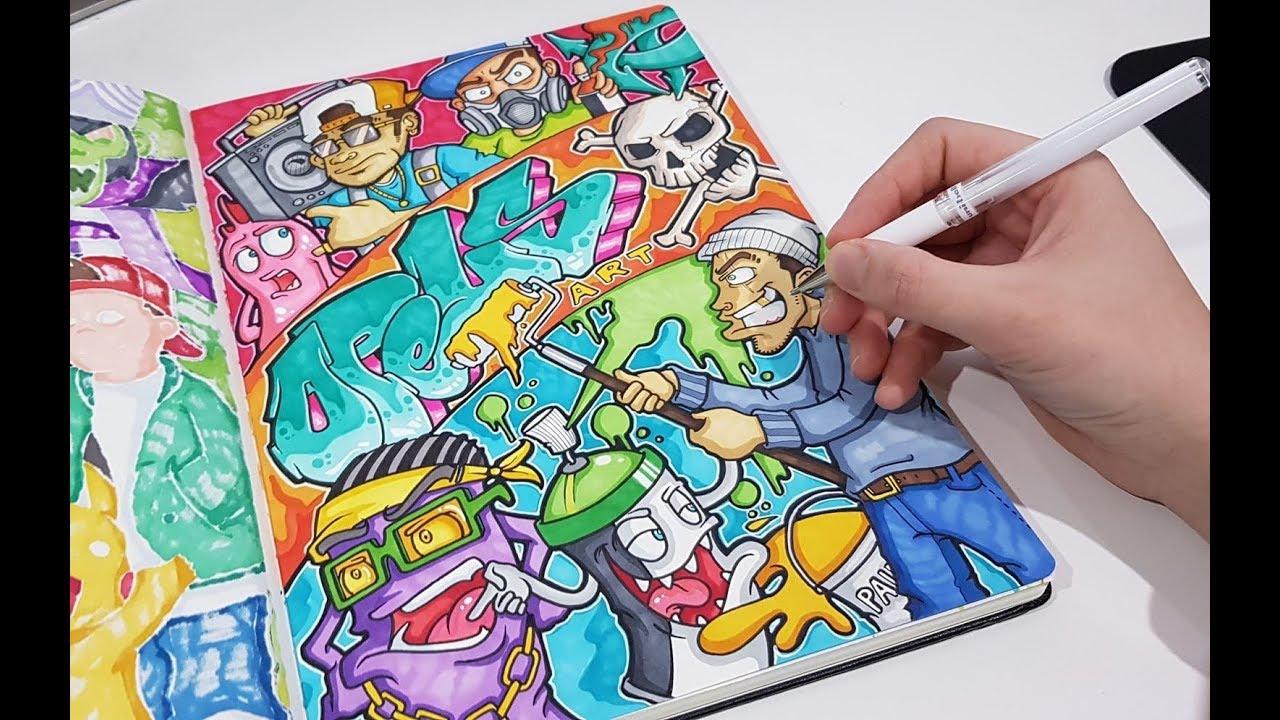 Epic Graffiti Style Doodle