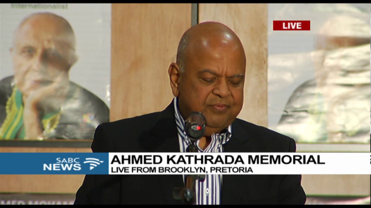 Pravin Gordhan says he doesn't want his job back - YouTube
