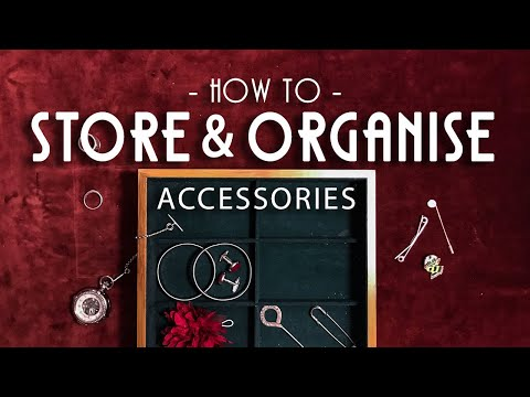 My1928 - Three Ways To Store & Organise Mens Accessories