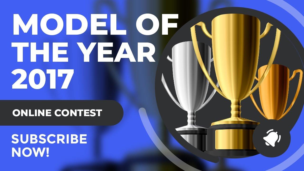 Scifiantasy Model of the Year (MOTY) 2017 Award Winners