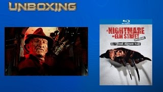 A Nightmare on Elm Street Collection Blu-ray Disc Unboxing HD 1080P