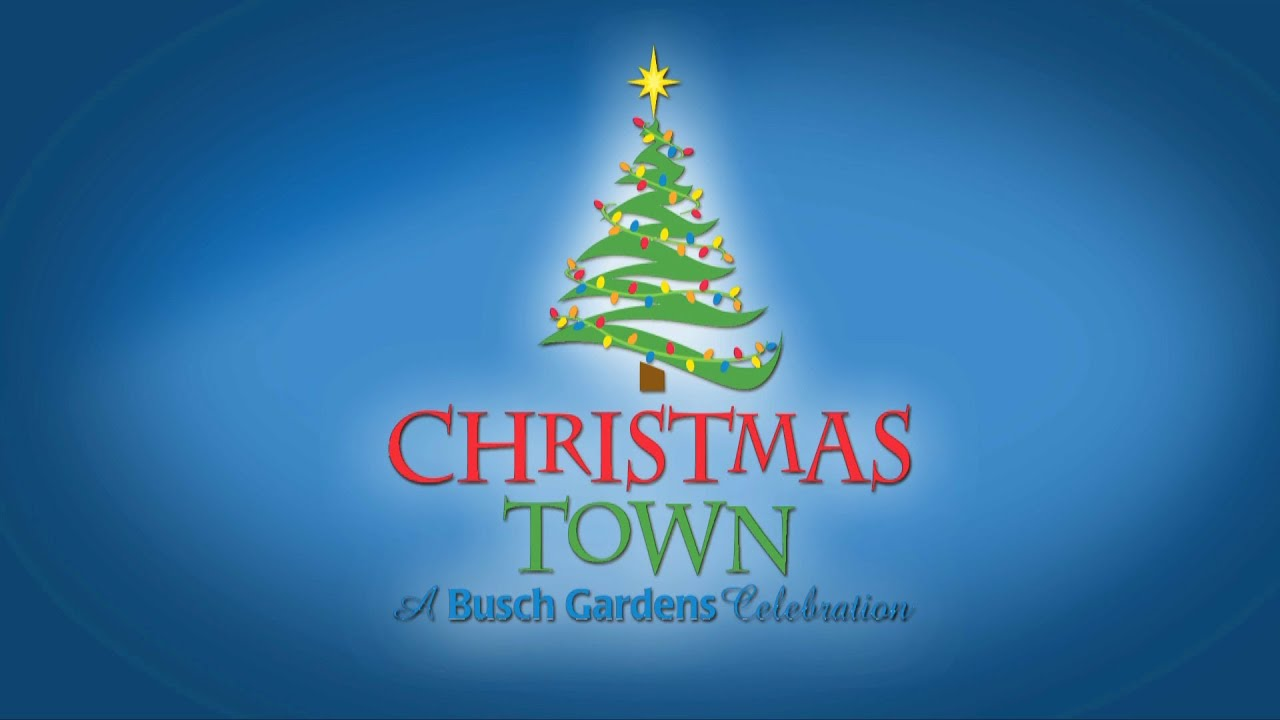 Busch Gardens Tampa Christmas Town Preview Snowworld Santa Claus Mrs Claus Lights Youtube