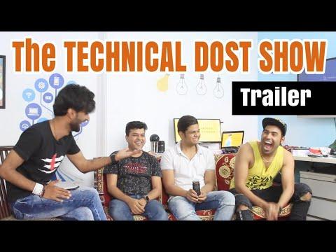 The TECHNICAL DOST SHOW | Teekhe Swaal | Gaurav Zone | Prince Chandra | GTU | Trailer