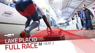Lake Placid | BMW IBSF World Cup 2015/2016 - Men's Skeleton Heat 2 | IBSF Official