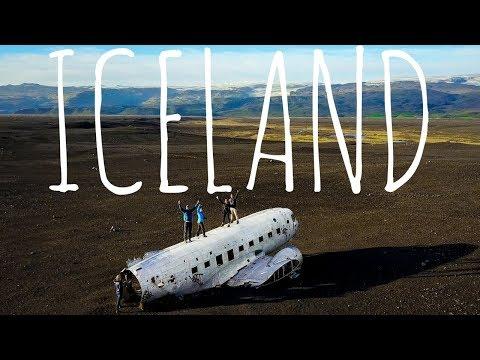 VIK PLANE CRASH & EPIC WATERFALLS | Iceland Day 2