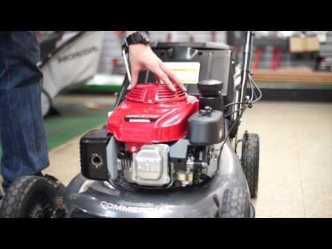 Honda HRC216HXA Commercial Lawn Mower