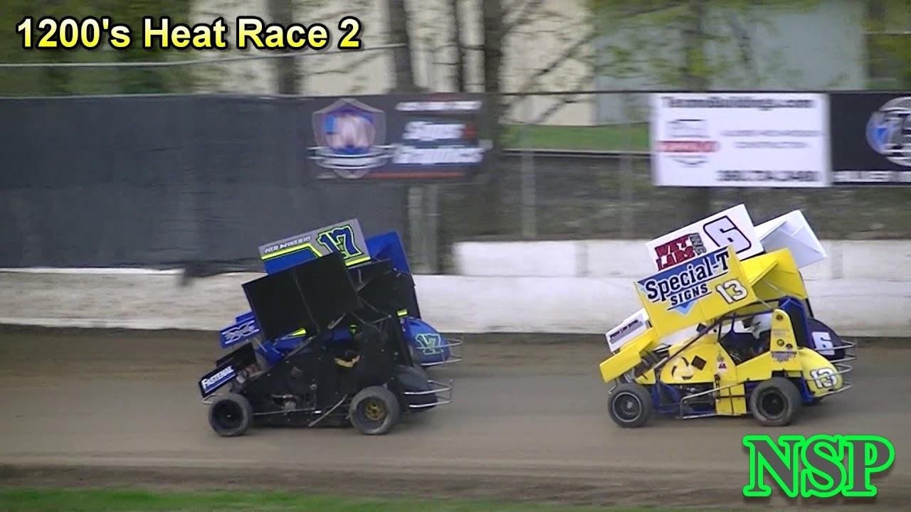April 12, 2019 1200 Mini Sprints Heat Races 1, 2 & 3 Deming Speedway