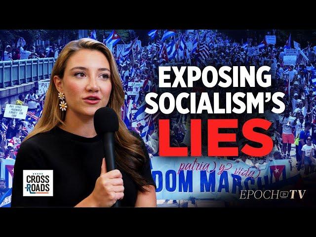 Morgan Zegers: Exposing the Lies that Justify Socialism | Clip