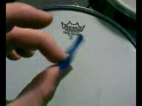 moongel damper pad demo drum damper