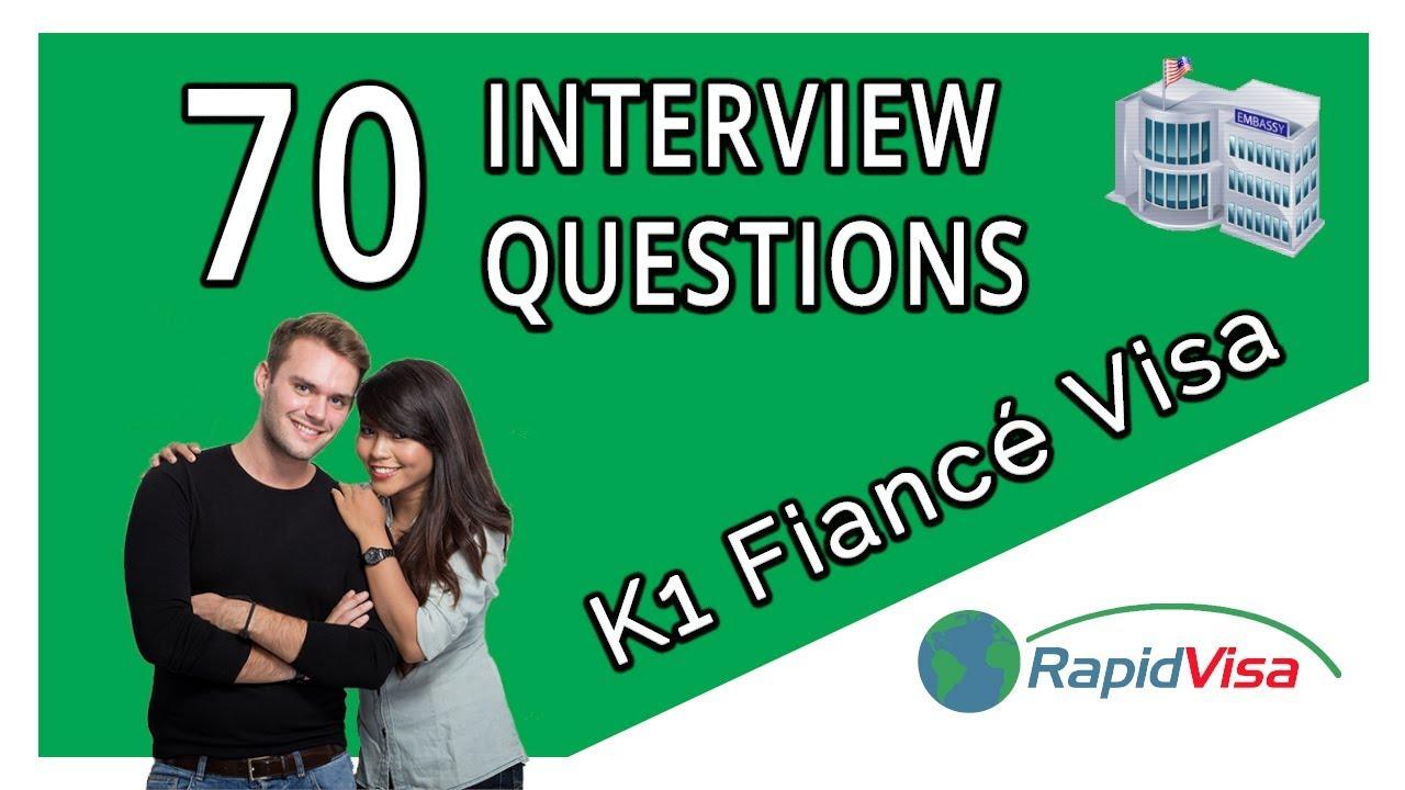 Fiance Visa Interview 70 Questions for 2019 | RapidVisa®