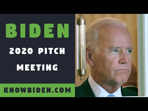 BIDEN 2020 Behind the Scenes Meeting with Corporate Donors