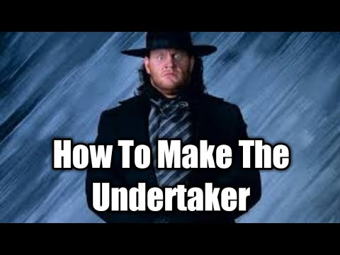 How to Make The Undertaker ('90s Attire)