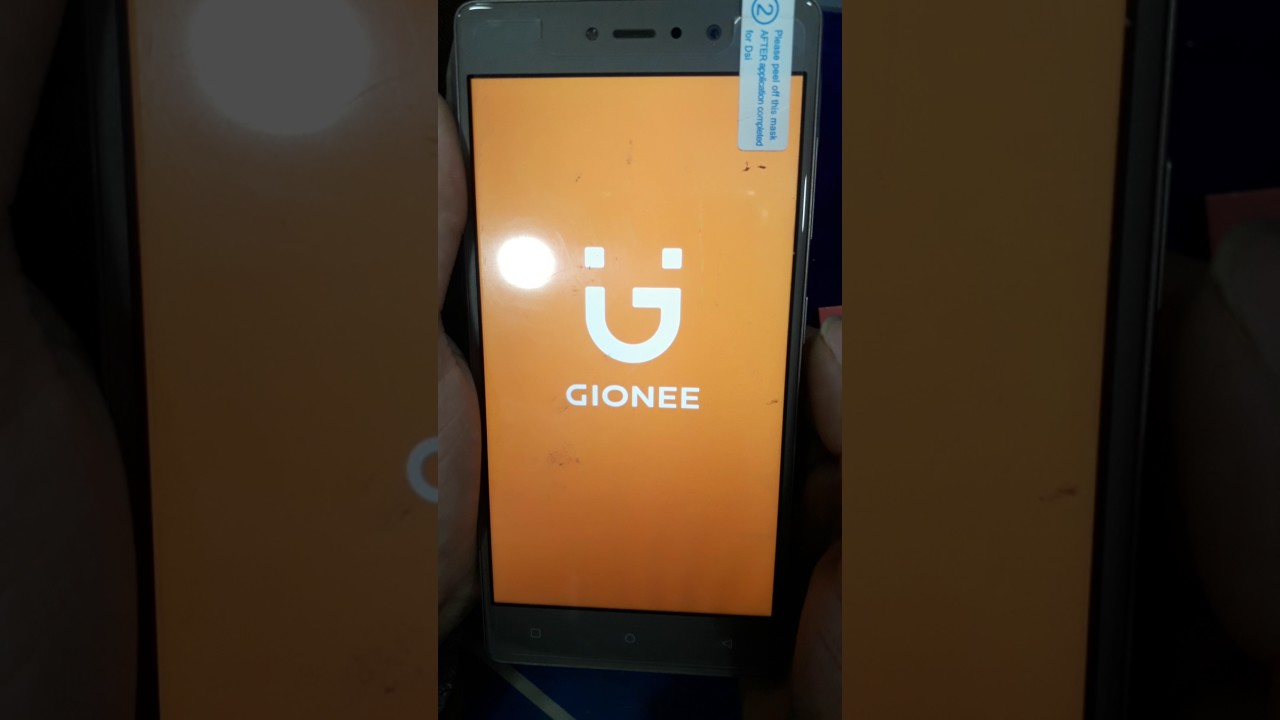 hard reset of gionee s6s
