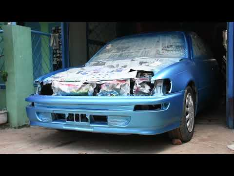 Rick custom Bengkel cat dan modifikasi bodykit fiber