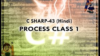 C SHARP-43 HINDI VIDEO TUTORIAL PROCESS CLASS 1