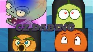 Plantas vs zombies animación Zombosův virus CZ DABING