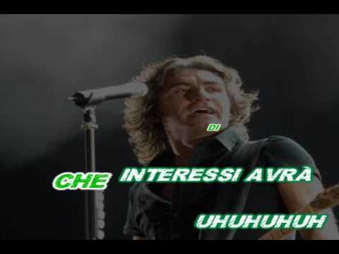 Ligabue - Happy Hour (karaoke - fair use)