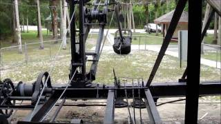 Bay City Walking Dredge - constructed part of Tamiami Trail