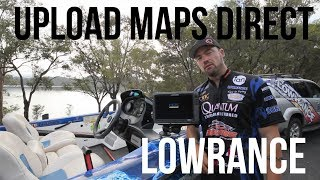 Lowrance - Insight Genesis - How to upload maps direct to sounder