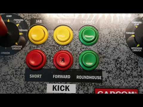 ARCADE1UP  Street Fighter cabinet mit vielen Emulatoren  auf Raspberry Pi 4  4gb from Greco T.