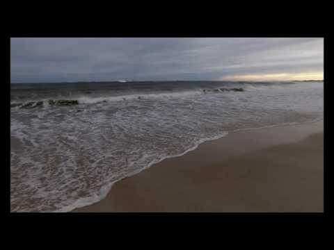 Rough seas with tropical storm offshore, Hampton Bays_2