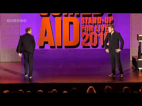Comedy Aid 2010 - Simon Talbot - Bertel Haarder - OFFICIAL VIDEO - HQ!!