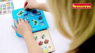 Логическая игра BONDIBON Smart Games Пираты Прятки