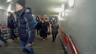 Переход метро Ботанический сад - МЦК Ботанический сад // 21 марта 2018 г