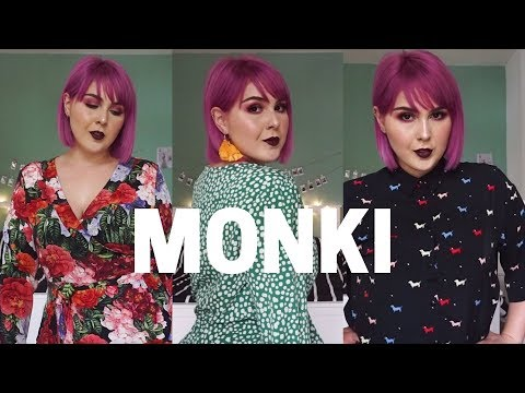 MONKI | Pre-Fall 2018 | Haul + Try On | Curvy Girl
