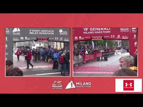 Generali Milano Marathon 2019 | Finish Line Cameras