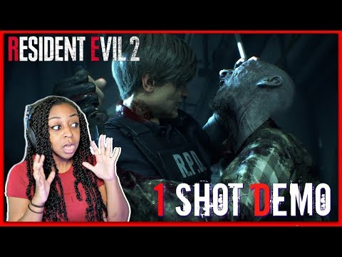 "THE CLOCK IS TICKING! | Resident Evil 2 ""One-Shot"" Demo Gameplay!!!"
