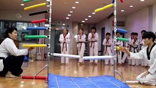 무지개타격기 앞차기3방교육 01