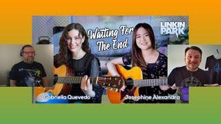REACTION Linkin Park Josephine Alexandra & Gabriela Quevedo Waiting For The End BOTH Versions