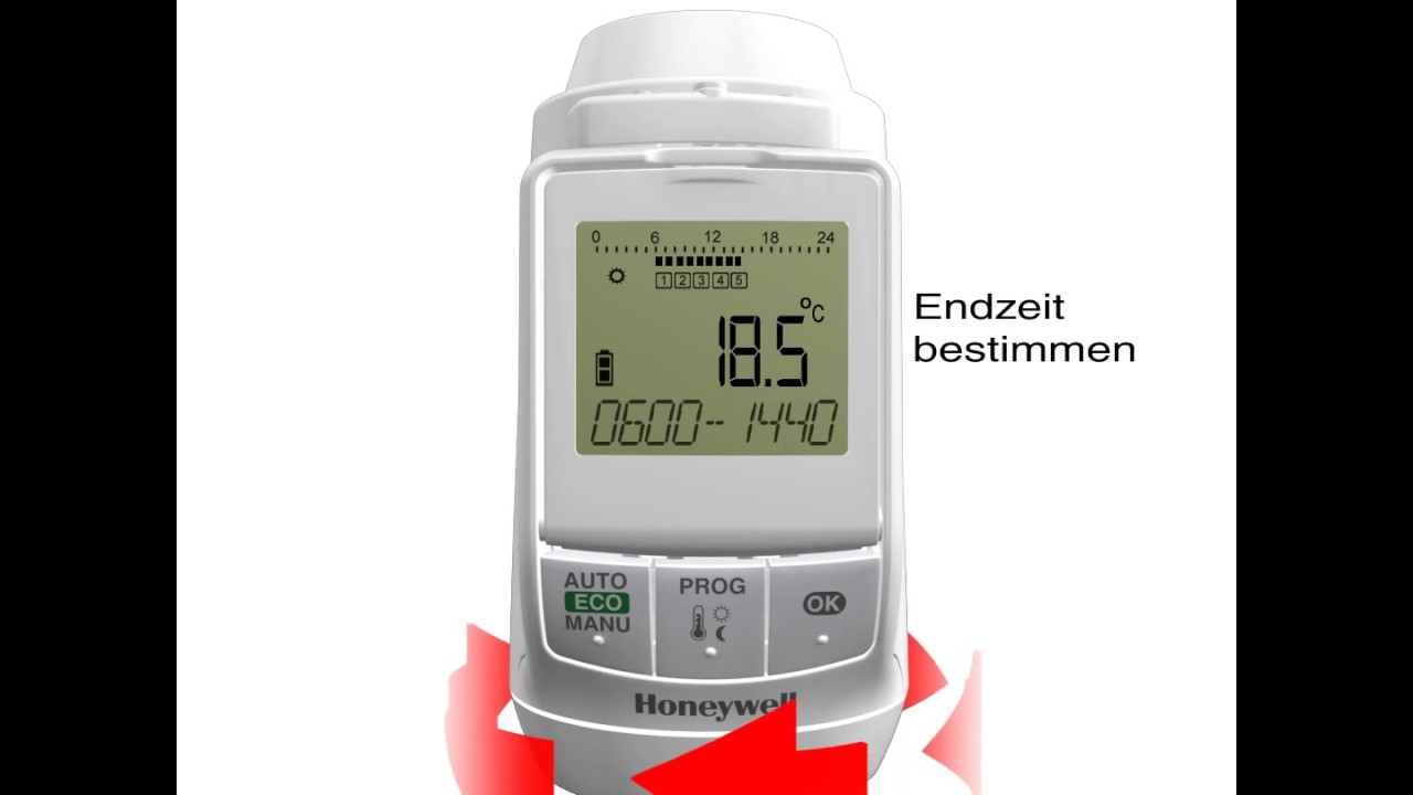 new styles e7805 178a0 TheraPro HR90 - Programmierung | Honeywell Home