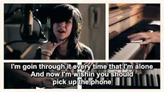 Repeat youtube video 'Just A Dream' by Nelly - Christina Grimmie & Sam Tsui with lyrics