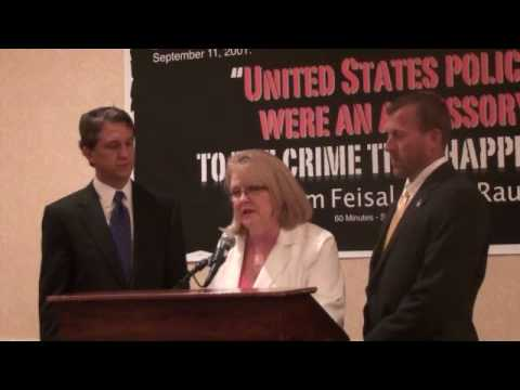 Rick Lazio Press Conference with Debra Burlingame over Mega Mosque