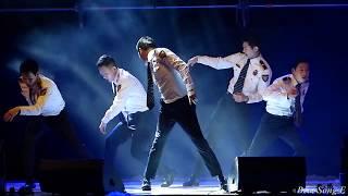 180427 준수 (Xia Junsu) 와 경기남부지방경찰청 홍보단의 환상적인 Fantastic Dance 공연 -kpop직캠fancam[Beat Song E]