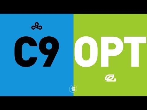 C9 vs. OPT - NA LCS Week 1 Match Highlights (Summer 2018)