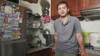 Thế Giới Điện Giải | Lý do CHỌN máy lọc nước kangen của Nhật Panasonic TK-AS66 - GĐ Anh Cường