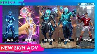 Skin Liliana Cantik 😍 - Skin Baru AOV 2018 Part #2 - Arena of Valor