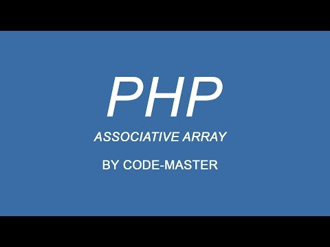 Associative Array In PHP Hindi/urdu
