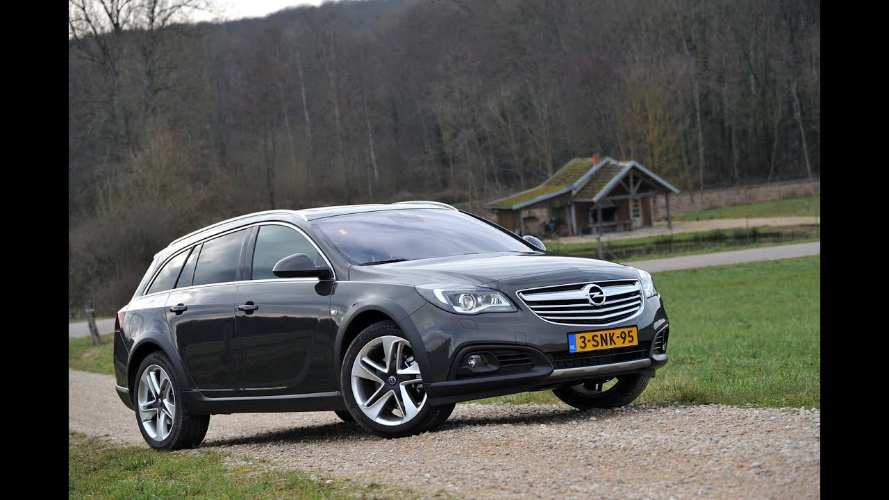 Opel Insignia Country Tourer Autotest 2014   YouTube