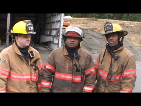 In Action - Firefighters (U.S. Army Reserve)