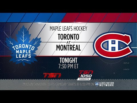 Maple Leafs Game Preview: Toronto at Montreal - September 26, 2018