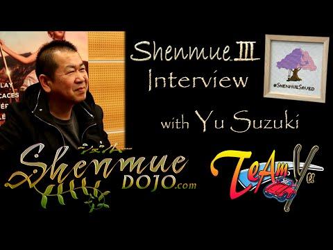 Yu Suzuki Interview - Shenmue 3 (Shenmue Dojo & Team Yu @ Magic Monaco 2016)