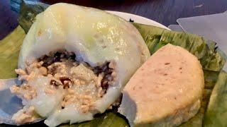 Bánh giò_công thức vỏ bánh giò siêu ngon của BH_2cách gói bánh ko dùng khuôn và không dùng lá chuối